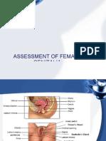 Assessment of Genitalia