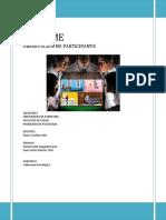 INFORME DE OBSERVACIÓN NO PARTICIPANTE