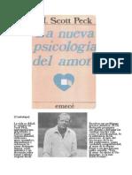 Peck Scott La Nueva Psicologia Del Amor