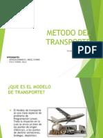 Metodo Del Transporte - Diapositiva