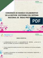 Presentacion Convenios Proceso y Oficializados