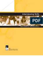 Interviewing Skills Chemical Professional
