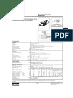 Directional Control Valves d3w