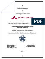 54401262 Final Project Axis Bank