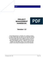 Project Management Hand Book v.1