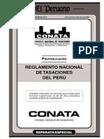 Reglamento Nacional de Tasaciones 2005