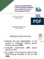 IDB Lecture Series IFSB