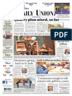 The Daily Union. November 19, 2013