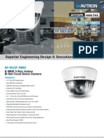 Avtron IR Dome very focal CCTV Camera AA-4813P-VMR2