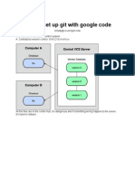 How to Setup Git With Google Code