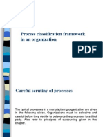 Process Classification Framework