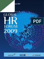 ProgramBook-Global HR Forum 2009