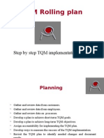 TQM Rolling Plan