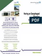 Oesophageal Dilatation