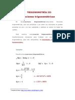 TRIGONOMETRÍA III