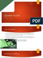 screen actor