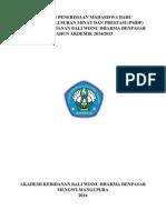 Pedoman Penyelenggaraan Pmdp 2014-2015 Full