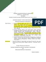 Undang-Undang Nomor 27 Tahun 2007 tentang Pengelolaan Wilayah Pesisir Dan Pulau-Pulau Kecil
