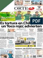 Periódico Norte de Ciudad Juarez 19 de Noviembre de 2013