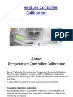Temperature Controller Calibration