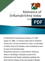 Relevance of Sriramakrishna