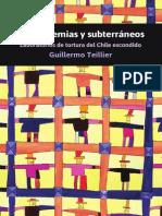 De Academias y Subterráneos-Laboratorios de Tortura-Chile-2012- Guillermo Teillier-Libro-Política