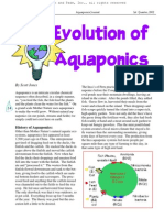 Evoluton of Aquaponics