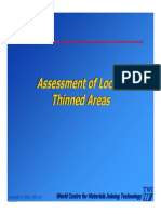 Section 9 - Assessment of Locally Thinned Areas