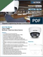 Avtron Dome CCTV Camera AM-EP706-VM-FM