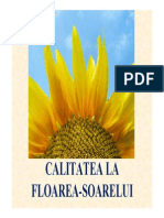 Standarde Indici Calitate Floarea Soarelui