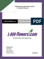 1800flowers.com Company Analysis