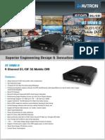 Avtron 3G Mobile DVR AT 04MVD