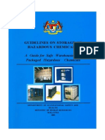Guidelines on Storage of Hazardous Chemical-malaysia