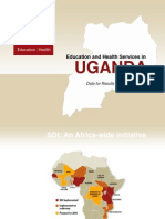 Uganda Service Delivery Indicators Final Presentation on Education and Health  Author Gayle H. Martin;