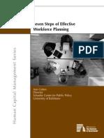 E-Book on Seven Steps on Effective Workforce Planning[1]