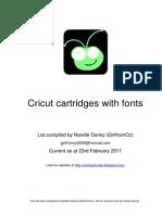 cricut cartridges with fonts feb11 a4