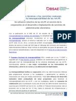 Las normas técnicas y los servicios comunes favorecen la interoperabilidad de las AA.PP