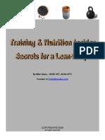 Training Nutrition Secrets Lewis