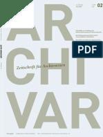 ARCHIVAR 02-09 Internet