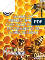 Manual de Prerrequisitos y Guia HACCP Octubre 2010