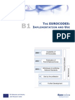 B1 Eurocodes Implementation & Use