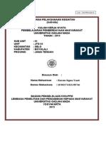 Format LPK Individu Mhswa KKN 2013