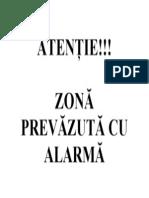 Afis Alarma