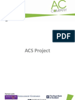 ACS Project - Info pack