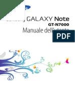manuale utente N7000
