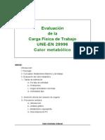 Calor Metabolico K V01