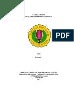 Laporan Tetap Mikrobiologi Umum Kelompok I