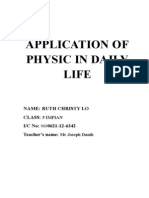 Application of Physic in Daily Life