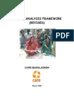 Gender Analysis Framework _CARE