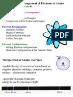 Autumn Lecture 2 (Electron Configs)